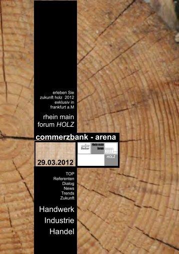 Rhein Main Forum HOLZ 2012 - Vertriebsmeister