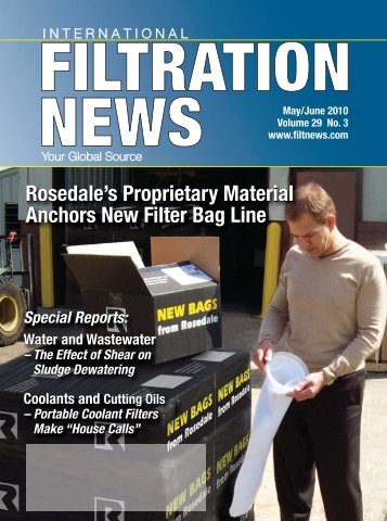 FiltratioNews-Jun 2010:FiltNews April 2009 - Filtration News