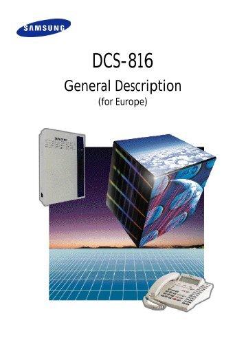 samsung dcs 400si general description pdf textfiles com rh yumpu com