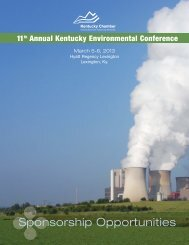 11th Annual Kentucky Environmental Conference