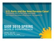 U.S. Ports and the New Panama Canal