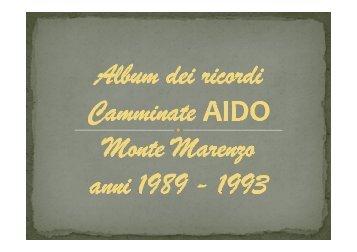 Album dei ricordi AIDO 1989 - 1993 - Upper – Un paese per star bene!