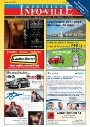 Info-Ville janvier février 2011 - MontreuxInfoVille