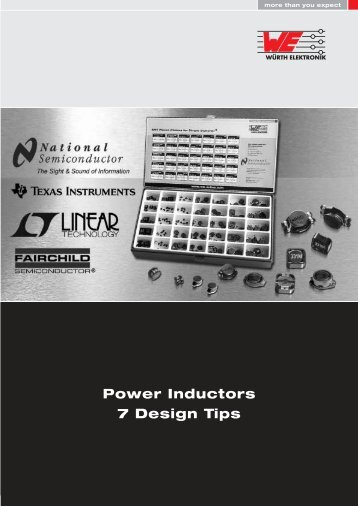 Power Inductors 7 Design Tips