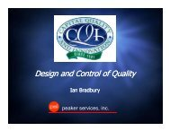 Design and Control of Quality - Capital Quality and Innovation