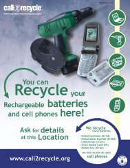 Ask for details - Call2Recycle