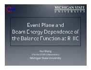 Event Plane and Beam Energy Dependence of the Balance ...