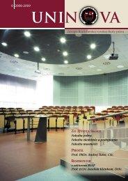 Uninova 0/2008 - Paneurópska vysoká škola