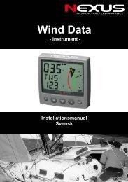 NX2 Wind Data instrument - Nexus Marine