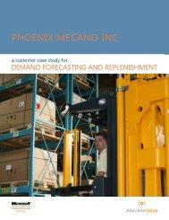 PhOENIx MECANO INC. - Lanham Associates
