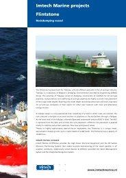 Flintstone Imtech Marine projects