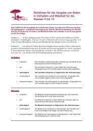 Noten:Verhalten/Mitarbeit - Deutsche Schule Rom