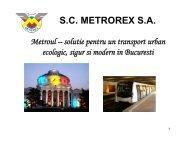 S.C. METROREX S.A.