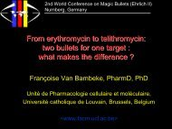 what makes the difference - Cellular and Molecular Pharmacology ...