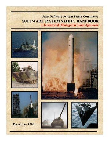 Software System Safety Handbook (JSSSEH) - System Safety Society