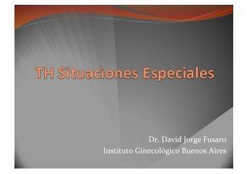 TH en pacientes con antecedentes de Endometriosis - IGBA