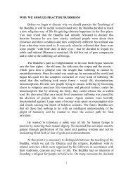 Why we should practise Buddhism? - DhammaTalks.net