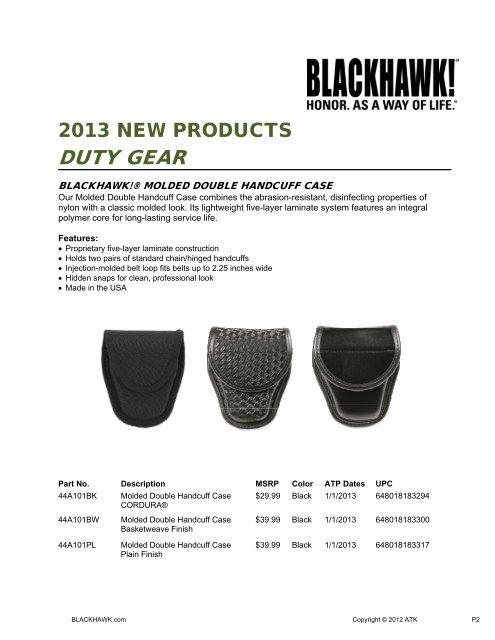 BlackHawk 44A750BK Black Cordura Nylon Expandable Baton Case//Holder