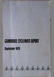 annual r : - Cambridge Cycling Campaign