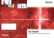 Panasonic KX-TDA600
