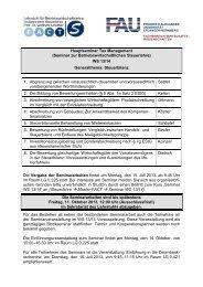 (Seminar zur Betriebswirtschaftlichen Steuerlehre) WS 13/14 ...
