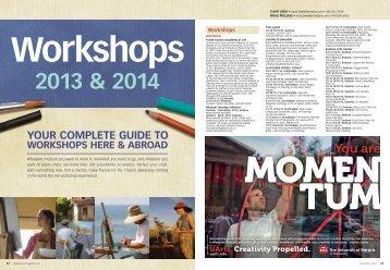 workshops 2013 & 2014 - F+W Media