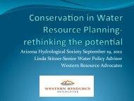 Arizona Hydrological Society September 19, 2012 Linda Stitzer ...