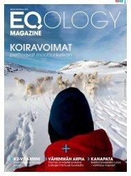 eq magazine huhtikuu - Eqology