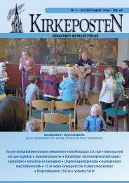 Nr. 2 juni-august 2009 - Den norske kirke i Drammen