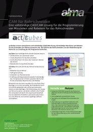 act/tubes: eine vollständige CAD/CAM Lösung ... - De.almacam.com
