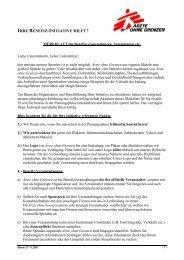Diese Pressemitteilung als PDF - Ärzte ohne Grenzen