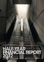 half-year financial report 2012 - Advanced Inflight Alliance AG