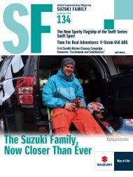 The Suzuki Family, Now Closer Than Ever