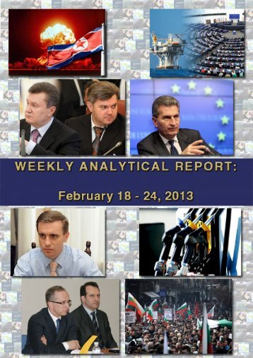 Weekly analytical report: February 18 - 24, 2013 - Українська ...