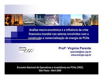 Análise macro-econômica e a influência da crise financeira mundial ...