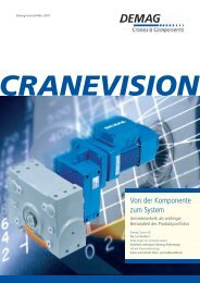 CRANEVISION - Demag Cranes & Components