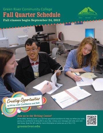 Fall 2012 - Green River Community College