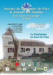 Moulin de la V ignasse, Loze (82) - Pays Midi-Quercy