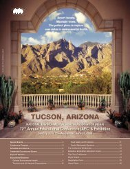 The 2008 AEC Conference Brochure - National Environmental ...