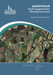 Statement of Consultation - Meetings, agendas and minutes - Halton ...