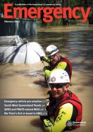 February 2012 - Department of Emergency Services - Queensland ...