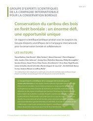 Conservation du caribou des bois en forêt boréale: un ... - Le Devoir
