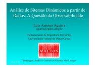 apresentação - Universidade Federal de Minas Gerais