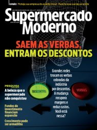 saem as verbas, entram os descontos - Supermercado Moderno
