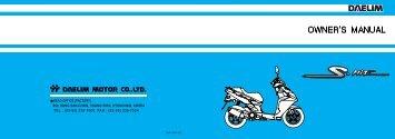 Daelim S5 Owners Manual.pdf - Mojo