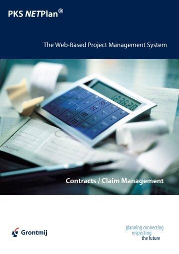 Contracts / Claim Management PDF Download 246 KB - PKS NETPlan