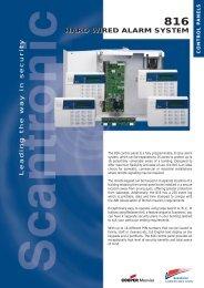 4065CS-816 Hardwired Alarm S. - Cooper Security
