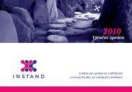 Výroční zpráva 2010 - Instand