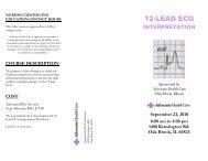 12-LEAD ECG - Advocate Health Care