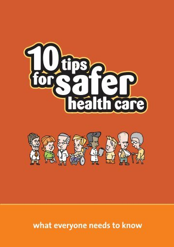 10 Tips for Safer Health Care